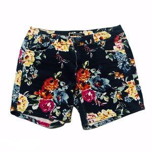 Roz & Ali Floral Shorts 0573